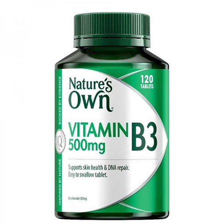 NAT/OWN VIT B3 500MG 120 TABLETS