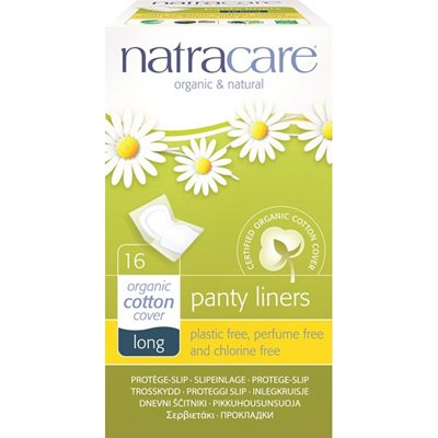 Natracare Panty Liners Long 16pk