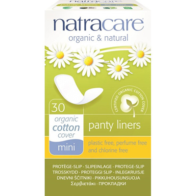 Natracare Panty Liners Mini 30pk