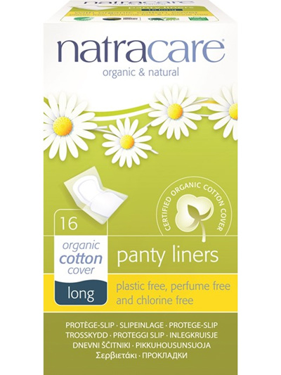 Natracare Pantyliners Long - 16 pack