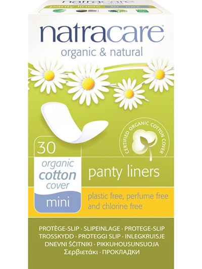 Natracare Pantyliners Mini - 30 pack