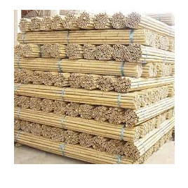 Natural Bamboo Cane 120cm Nat 10-12mm 500 pieces