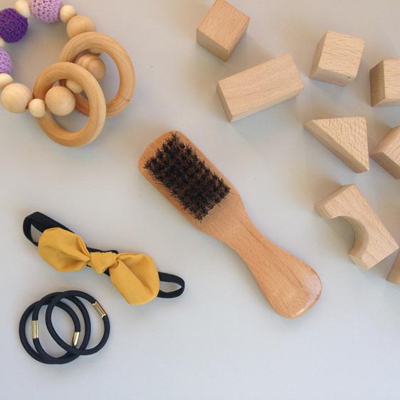 natural boar bristle hair brush new zealand organic
