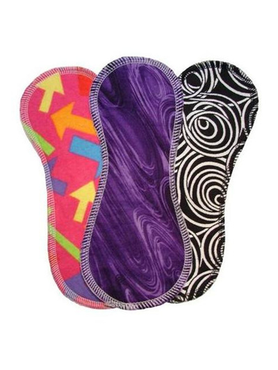 Natural Cloth Pads - Twin Pack