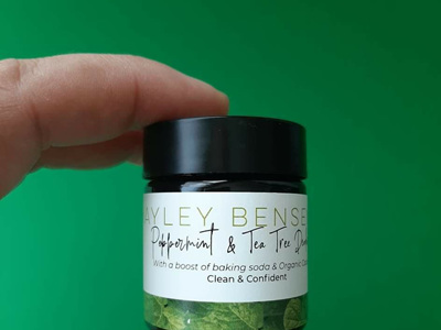 Peppermint & Tea Tree Deodorant - trial size