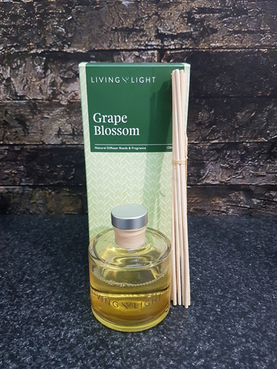 NATURAL DIFFUSER REEDS - GRAPE BLOSSOM