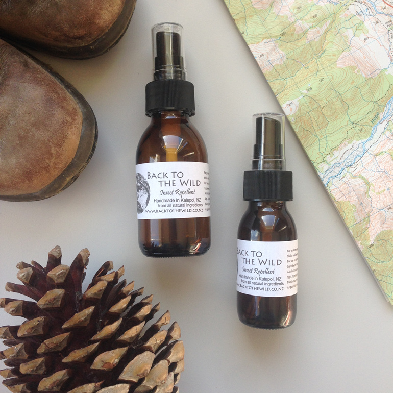 natural essential oil effective organic insect repellent outdoors nz