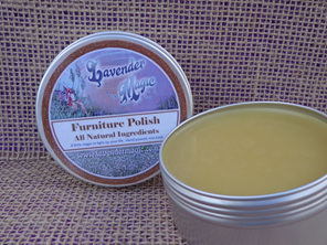 Natural Furniture Polish with Lavender