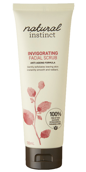 Natural Instinct Invigorating Facial Scrub 125ml