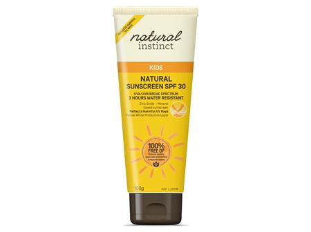 Natural Instinct Kids Natural Sunscreen SPF30 100g