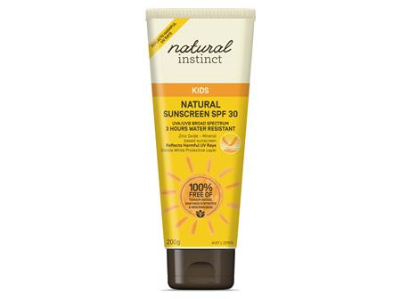 Natural Instinct Kids Natural Sunscreen SPF30 200g