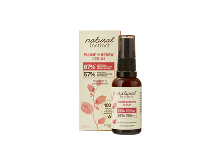 Natural Instinct Plump and Renew Serum 30ml