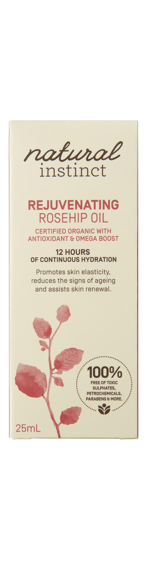 Natural Instinct Rejuvenating Rosehip Oil 25ml
