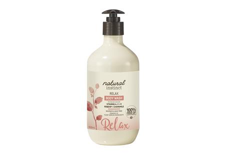 Natural Instinct Relax Body Wash 500ml