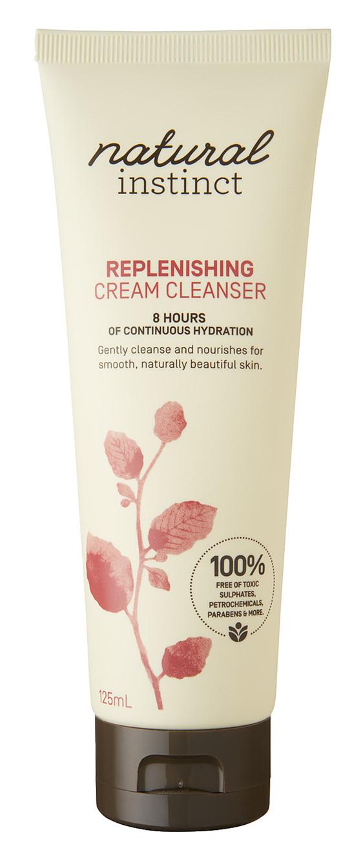 Natural Instinct Replenishing Cream Cleanser 125ml