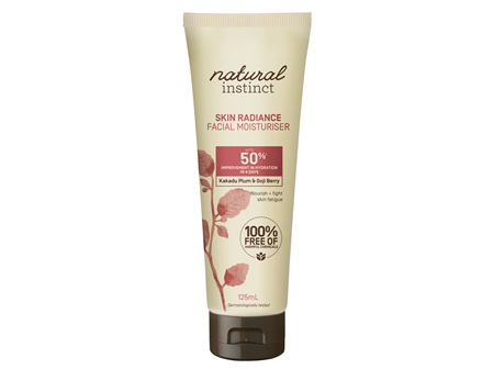 Natural Instinct Skin Radiance Moisturiser 125ml