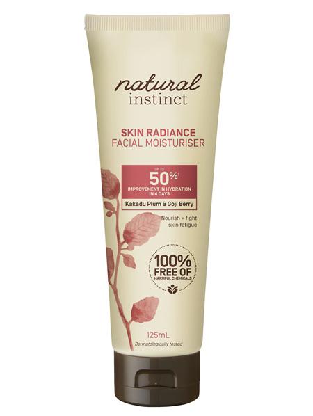 Natural Instinct Skin Radiance Moisturiser 125ml