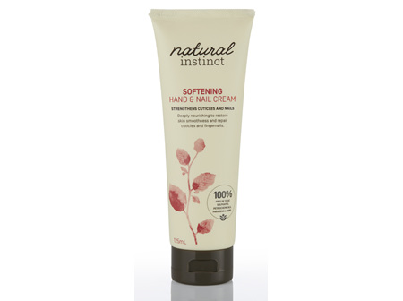 Natural Instinct Softening Hand & Nail Cream 125ml
