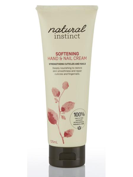 Natural Instinct Softening Hand & Nail Cream 125ml
