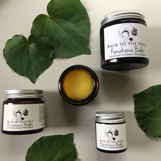 natural kawakawa balm for eczema zero waste for babies organic