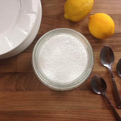 Natural Lemon Dishwasher Powder