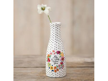 Natural Life Bud Vase Floral World
