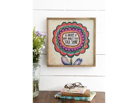 Natural Life Bungalow Art Soul Shine 30cm x 30cm