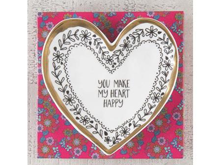Natural Life Calypso Heart Happy