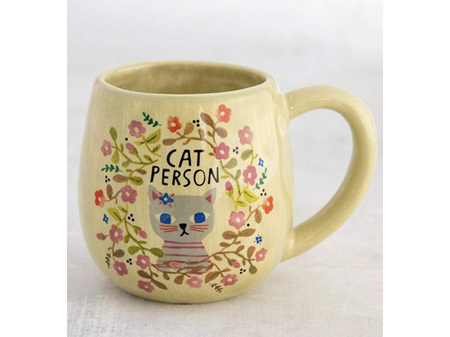 Natural Life Cat Person Mug