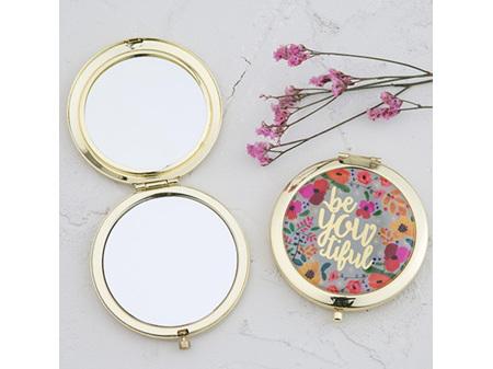 Natural Life Compact Mirror BeYouTiful