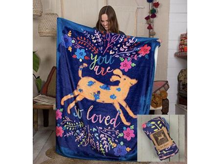 Natural Life Cozy Blanket Dog