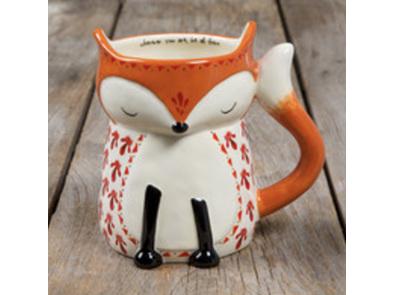 Natural Life Folk Fox Mug