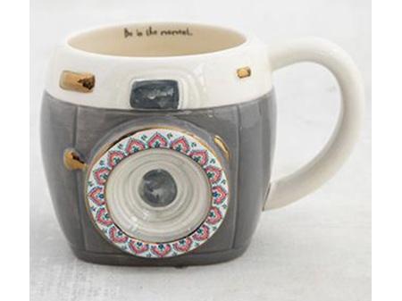 Natural Life Folk Mug Charcoal Camera