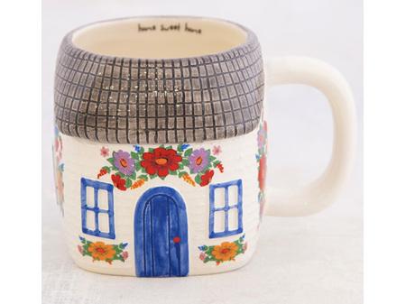 Natural Life Folk Mug Cottage