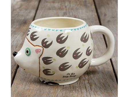 Natural Life Folk Mug Hedgehog Friend