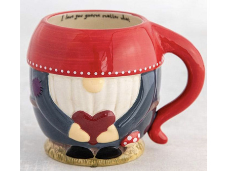 Natural Life Folk Mug Love You Gnome Matter What