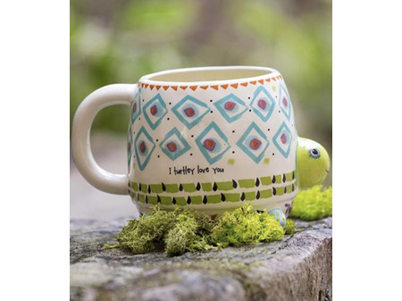 Natural Life Folk Mug Turtley Love You