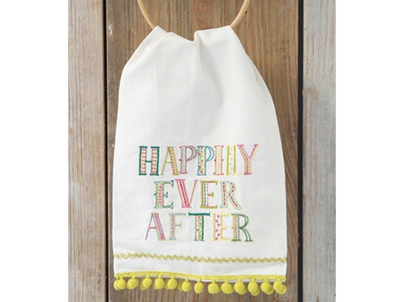 Natural Life Happily Ever After Tea Towel
