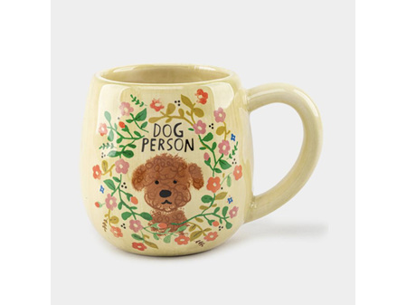 Natural Life Happy Dog Person Mug