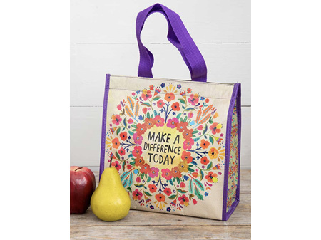 Natural Life Insulated Lunch Bag Make a Difference Today
