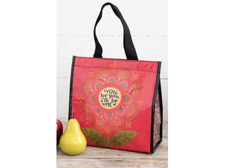 Natural Life Insulated Lunch Bag You Be You