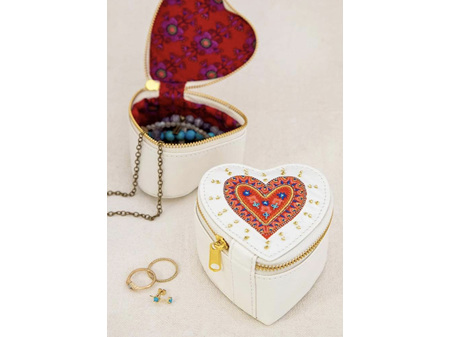 Natural Life Jewellery Case Heart