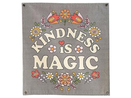 Natural Life Kindness is Magic Wall Hanging