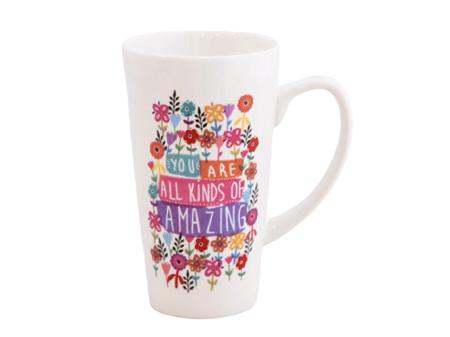 Natural Life Latte Mug You are Amazing