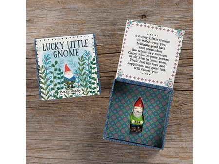 Natural Life Lucky Charm in Box Gnome