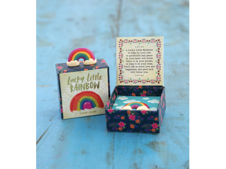 Natural Life Lucky Charm in Box Rainbow