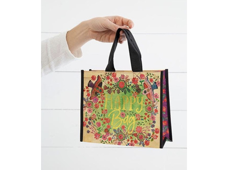 Natural Life Recycle Gift Happy Bag Birds