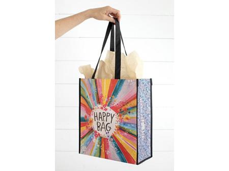 Natural Life Recycled Gifting Bag Happy Bag