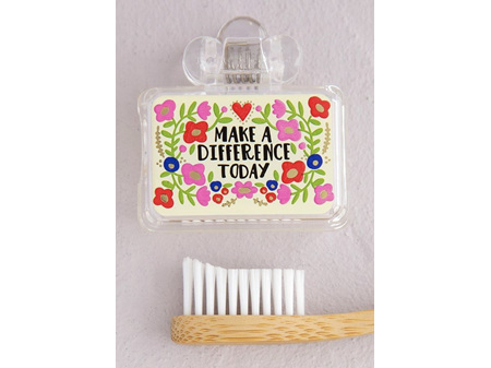 Natural Life Toothbrush Cover Make a Difference