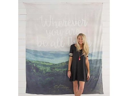 Natural Life Wall Tapestry - Be All There 175cmx210cm